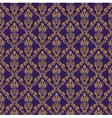 Seamless damask wallpaper 1 purple color vector