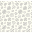 Seamless pattern with hand drawn circle elements vector
