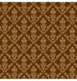 Seamless damask wallpaper 2 cream color vector