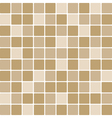 Brown tile wall vector