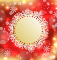 Christmas holiday background with greeting card vector
