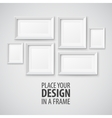 Frame template vector