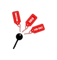 Key with tags vector