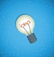 Light bulb idea background vector