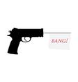 Gun bang vector
