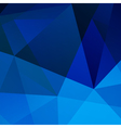 Abstract blue geometric background for your design vector