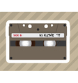 Tape players vector