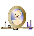 Cosmetics vector