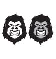 Gorilla head mascot vector