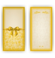 Elegant template for invitation card vector