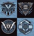 Sports emblem graphics vector