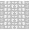 Valentines day pattern vector
