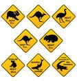 Australian roadsigns vector