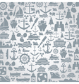 Ship a background vector