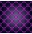 Elegant seamless pattern on gray background vector