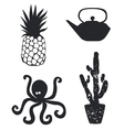 Set from unique icons vector