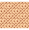 Beige scale seamless pattern vector