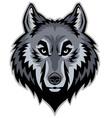 Wolf head mascot vector