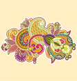 Abstract colorful doodles vector