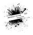 Ink blots text bacground vector