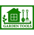 Garden symbol icon vector