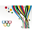 London olympics games 2012 background vector
