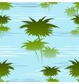 Morning jungles seamless pattern vector