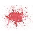 Blood watercolor vector