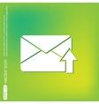Postal envelope e-mail symbol icon envelope vector