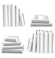 White books vector