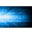 Blue technical design vector