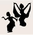 Traditional dance 2 vector