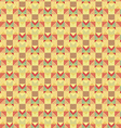 Graphic seamless colorful pattern flat style vector