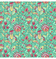 Seamless texture with flowers vector