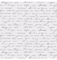 Seamless abstract handwritten text vector