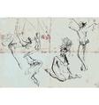 Gymnastics and circus show - collection vector