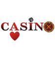 Casino logo vector