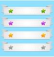 Abstract ribbons vector