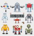 Robot set vector