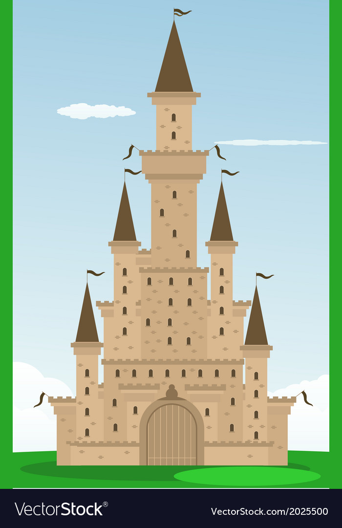 Castle design vector | Price: 1 Credit (USD $1)