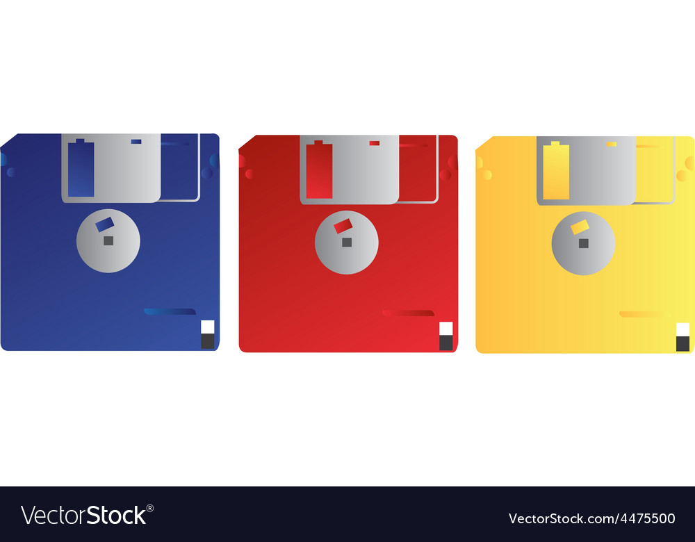 Floppy disk vector | Price: 1 Credit (USD $1)