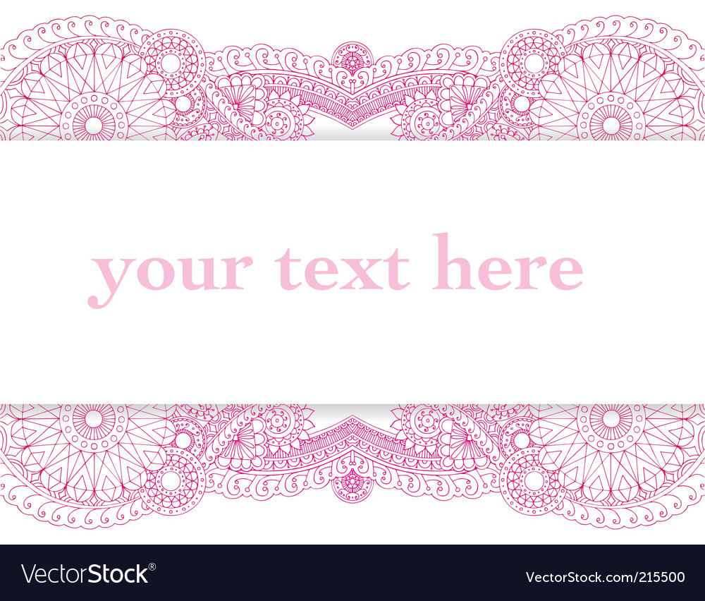Henna card vector | Price: 1 Credit (USD $1)