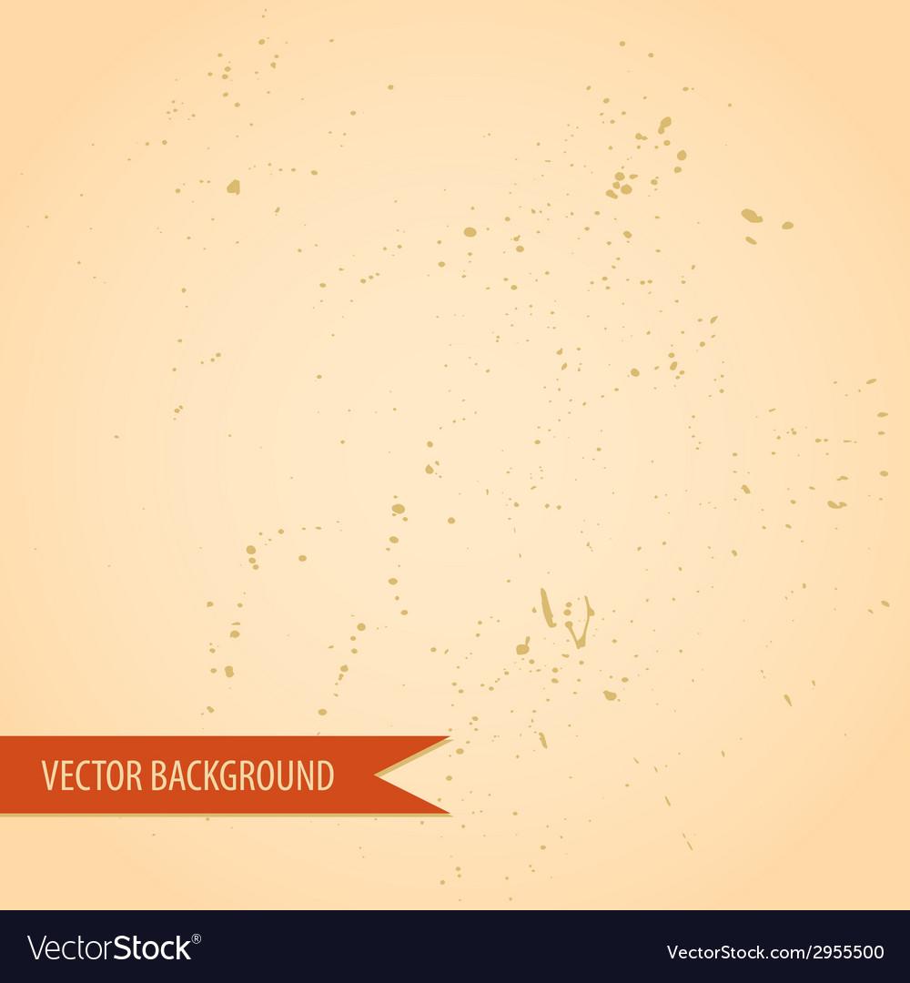 Vintage retro grunge old paper texture background vector | Price: 1 Credit (USD $1)