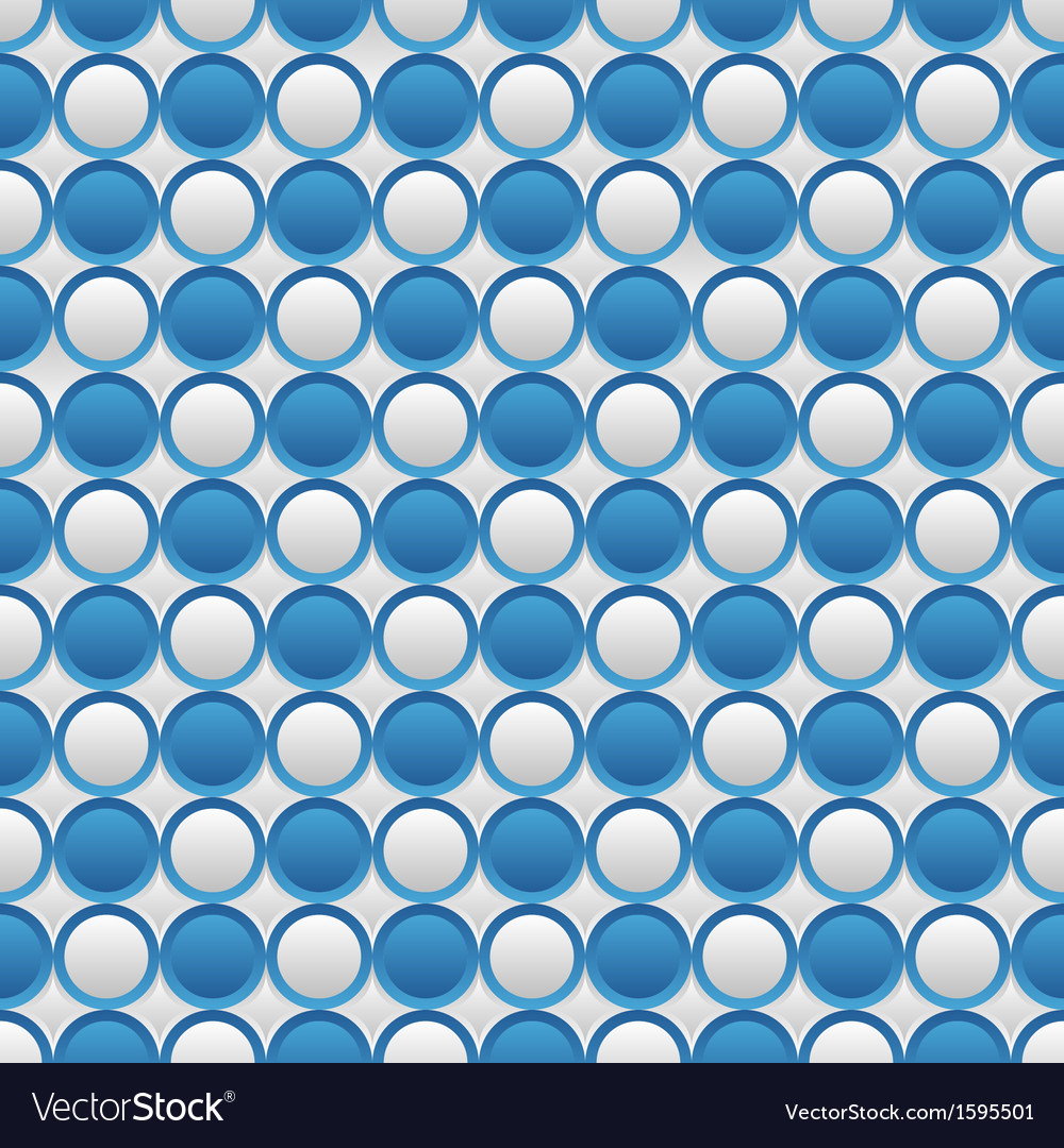 Blue and white seamless volume texture vector | Price: 1 Credit (USD $1)