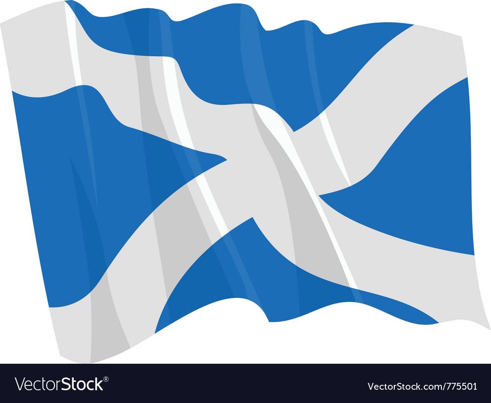 Flag of scotland vector   Price: 1 Credit (USD $1)