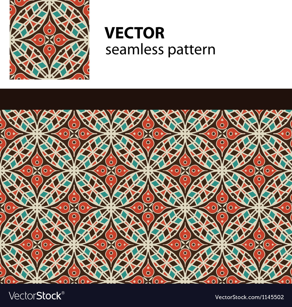 Eastern pattern vector | Price: 1 Credit (USD $1)