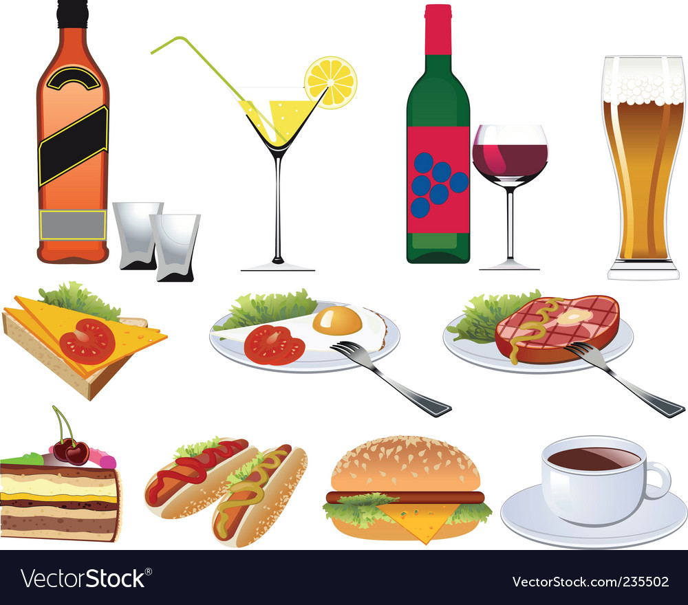 Restaurant icons set vector | Price: 1 Credit (USD $1)