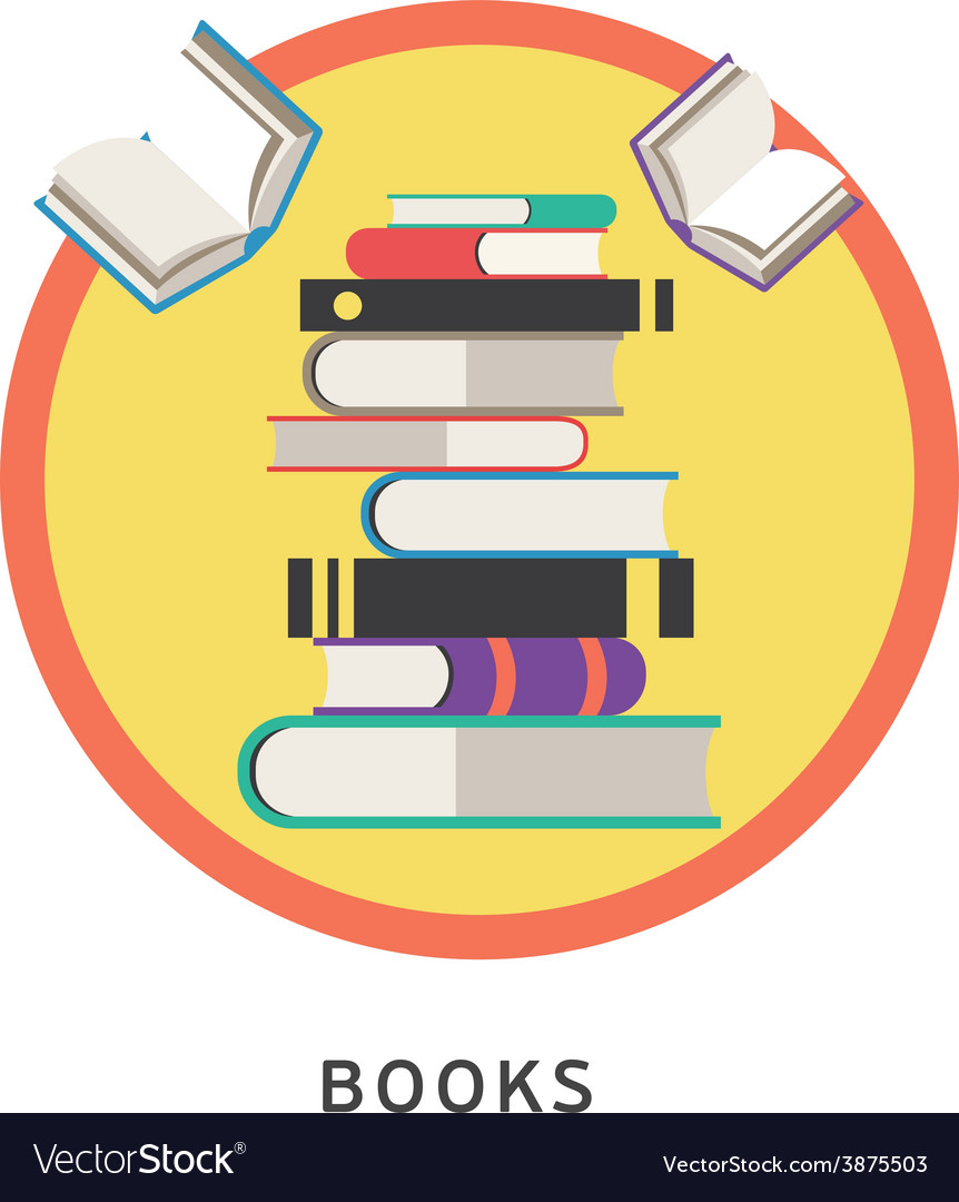 Books step education infographics vector | Price: 1 Credit (USD $1)