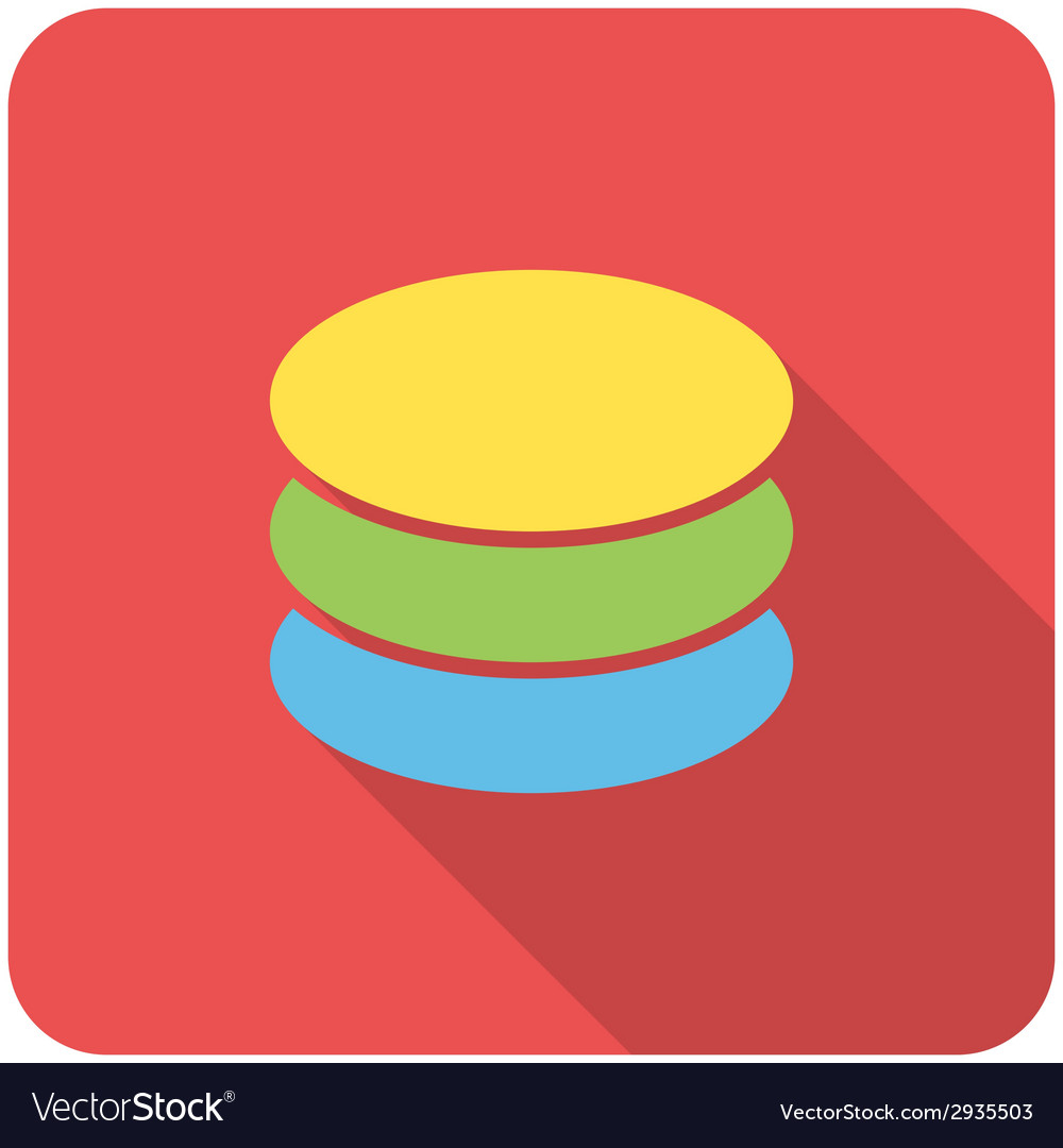 Database icon vector | Price: 1 Credit (USD $1)