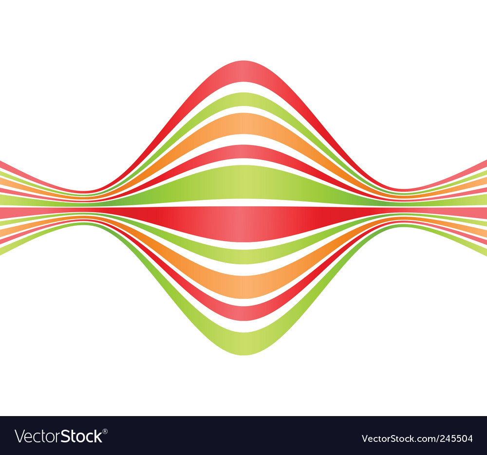 Bent lines vector | Price: 1 Credit (USD $1)
